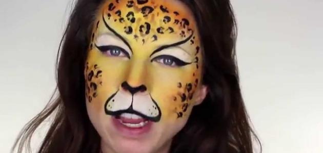 طريقة الرسم على الوجه