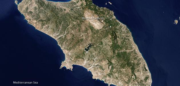 أين تقع اليونان موقع مصادر