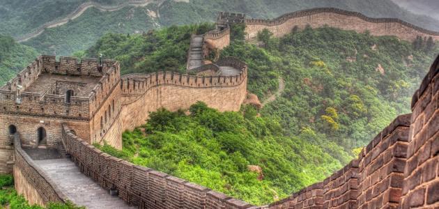 معلومات عن سور الصين العظيم موقع مصادر