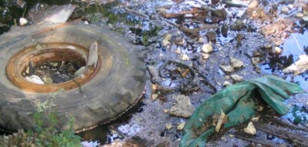 بحث عن تلوث التربة موقع مصادر