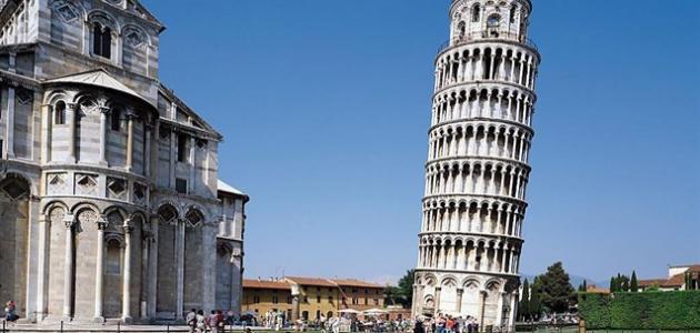 في أي مدينة يقع برج بيزا موقع مصادر