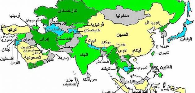 في أي قارة تقع السعودية موقع مصادر