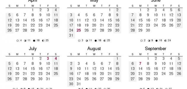 عدد أيام السنة موقع مصادر