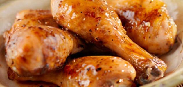 اكلات دجاج مع الفطر في