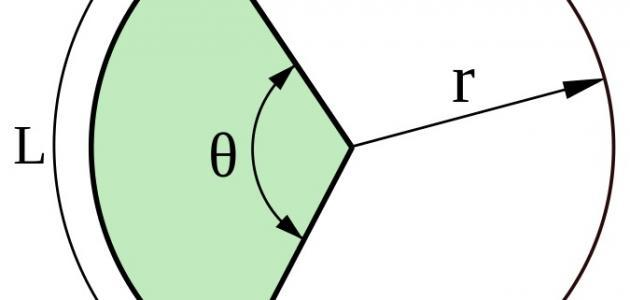 قانون مساحة نصف الدائرة موقع مصادر