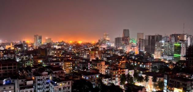 مدينة دكا في بنجلاديش