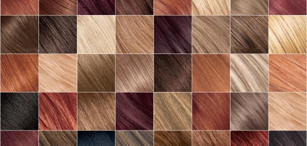 كيفية اختيار لون صبغة الشعر موقع مصادر
