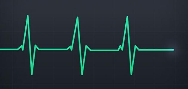 مقالة كم عدد ضربات القلب 12