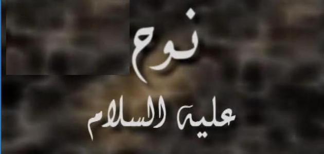 بحث عن سيدنا نوح عليه السلام