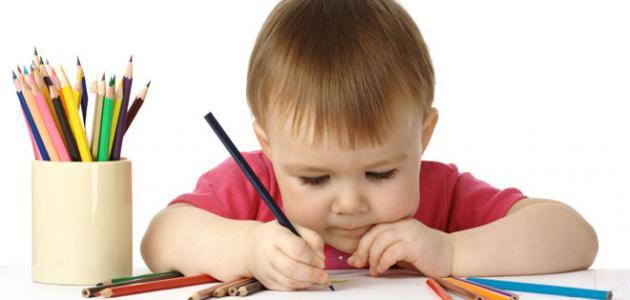 كيف تعلم الرسم للأطفال