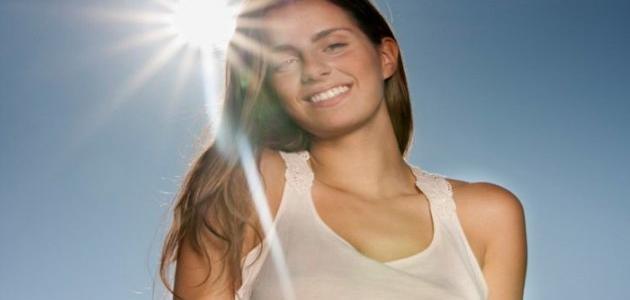 كيفية حماية الوجه من أشعة الشمس