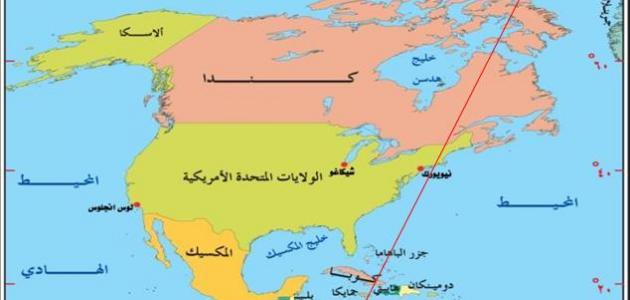 أسماء دول أمريكا الشمالية موقع مصادر
