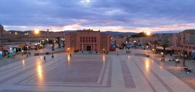 مدينة ورزازات في المغرب