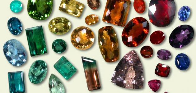 أنواع الأحجار الكريمة موقع مصادر