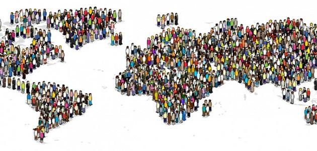 تقرير عن توزيع السكان موقع مصادر