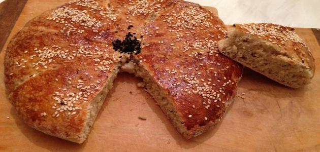 طريقة عمل خبز رمضان السوري