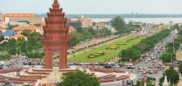 أين تقع مدينة كمبوديا موقع مصادر