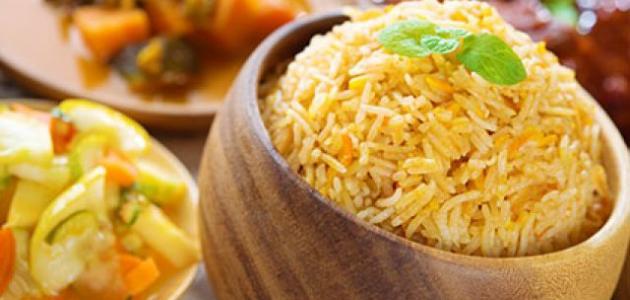 طريقة ومكونات الأرز البخاري موقع مصادر