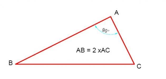 قانون مساحة المثلث قائم الزاوية موقع مصادر