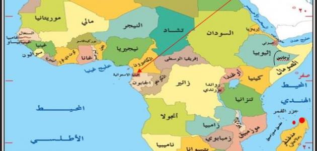 أين تقع غينيا الإستوائية موقع مصادر