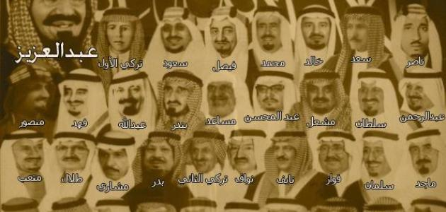 كم عدد ابناء الملك عبد العزيز موقع مصادر