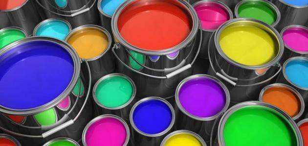 كيفيه مزج الألوان مع بعضها