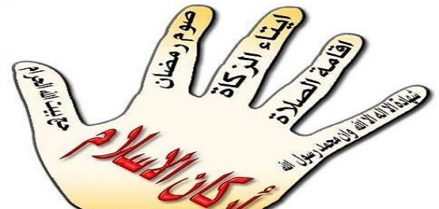 كم عدد أركان الإسلام