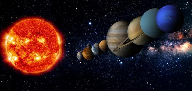 أبعد كوكب عن الشمس موقع مصادر