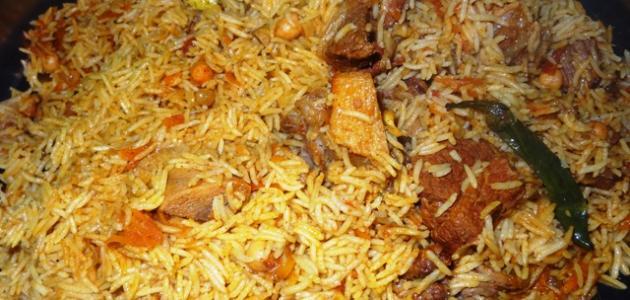 أرز بخاري على الطريقة الأصلية
