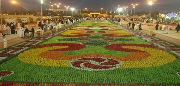 أين يقام مهرجان الزهور بالرياض موقع مصادر