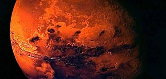 تعريف كوكب المريخ
