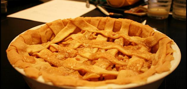 عمل فطيرة التفاح