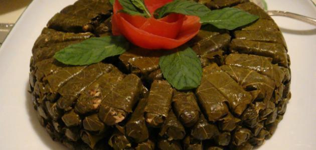 طريقة ورق العنب اللبناني موقع مصادر