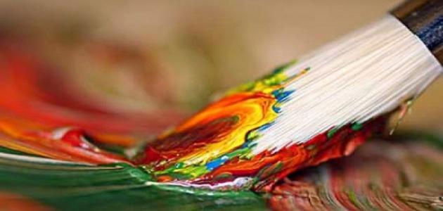 كيف أرسم لوحة فنية