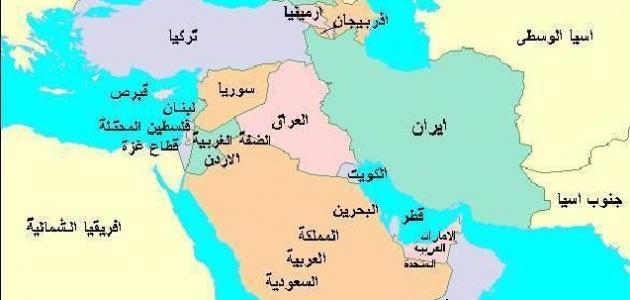 أين تقع شبه الجزيرة العربية موقع مصادر