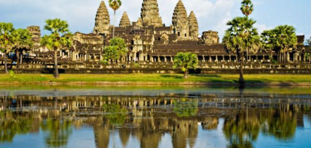 أين تقع مملكة كمبوديا موقع مصادر