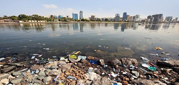 تلوث مياه البحر