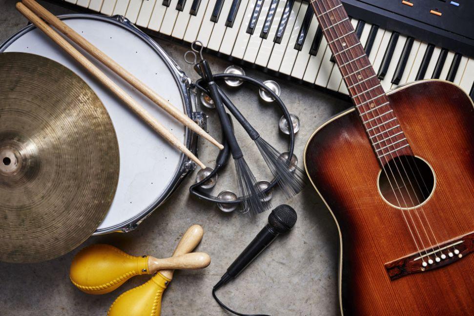 تعريف الآلات الموسيقية وأنواعها