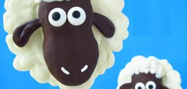 عمل خروف العيد للأطفال