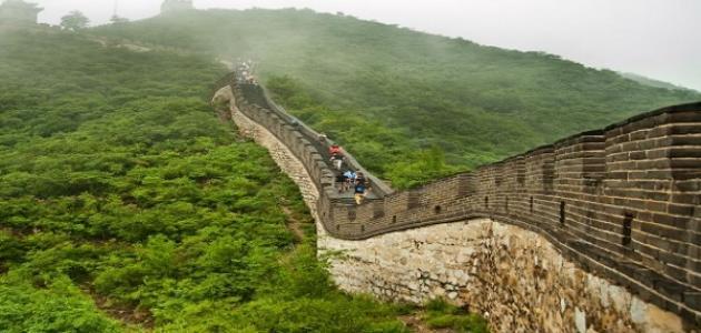 عجائب الدنيا السبع سور الصين العظيم موقع مصادر