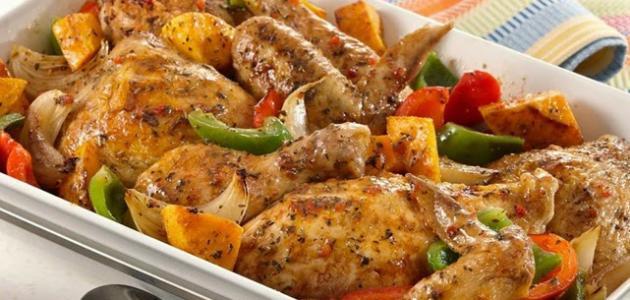 طريقة عمل صينية دجاج بالبطاطس 11