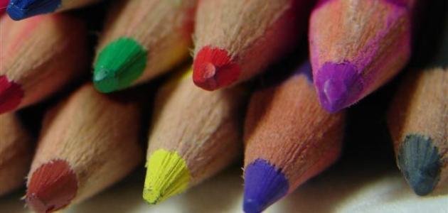 كيفية مزج الألوان