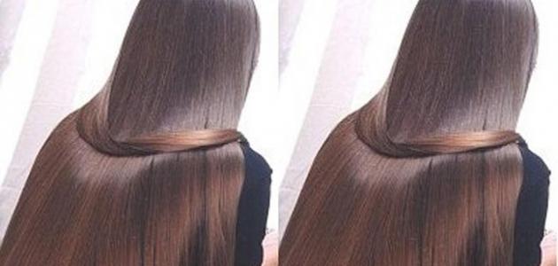 طريقة تطويل الشعر في يوم