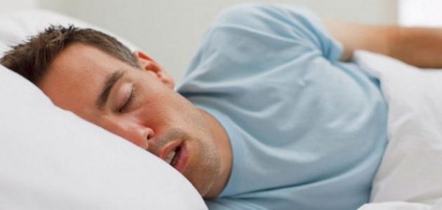 كيفية علاج سيلان اللعاب أثناء النوم