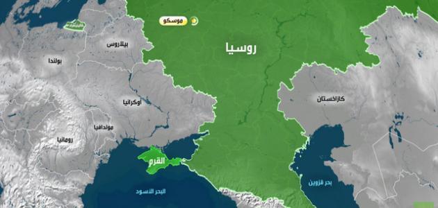 ما هي مساحة روسيا