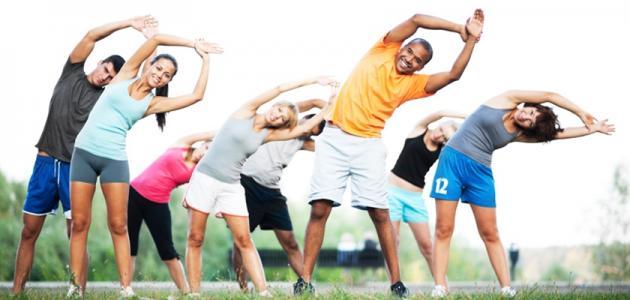 ما هي عناصر اللياقة البدنية موقع مصادر