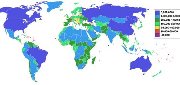 ما هي مساحة الوطن العربي موقع مصادر