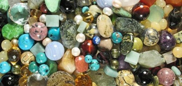 أنواع الأحجار كريمة موقع مصادر