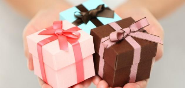 كيف أعمل هدية بسيطة